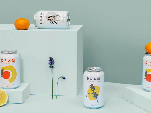 DRAM Sparkling Water, CBD Sparkling Waters and Bitters\